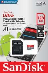 Tarjeta de Memoria Micro Sd 128 Gb