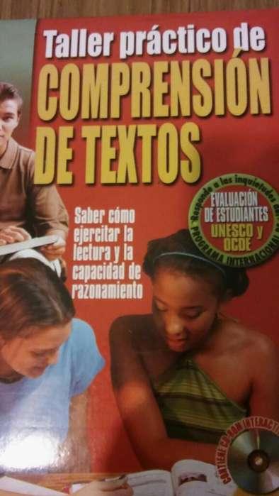 Libro Comprensión Lectora Y Cd.
