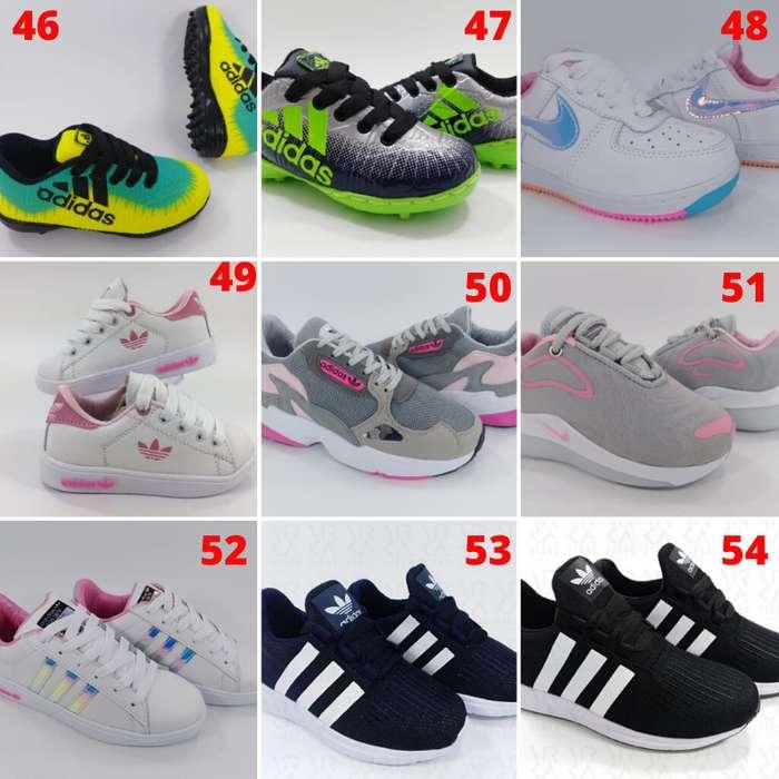 Tenis Zapatillas para Niños Envío y Obsequio GRATIS