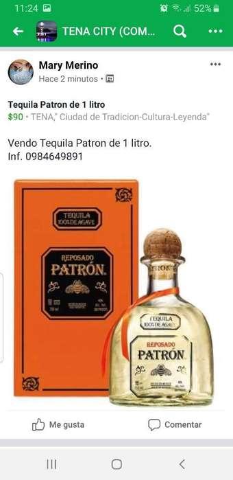Vendo O Cambio Tequila Patron de 1 Litro