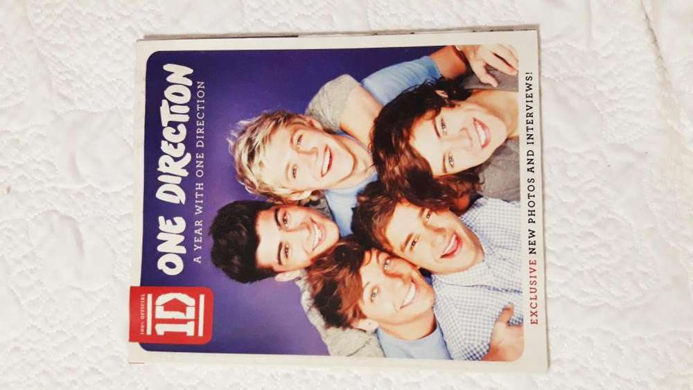One Direction: A Year with One Direction (Inglés)