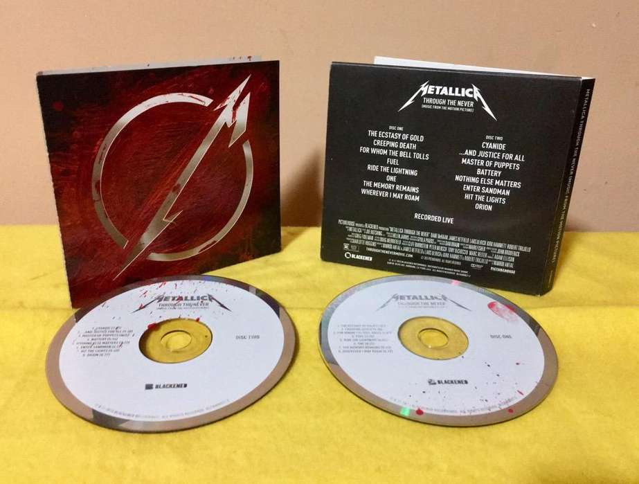 Metallica Through The Never Set 2 Cds