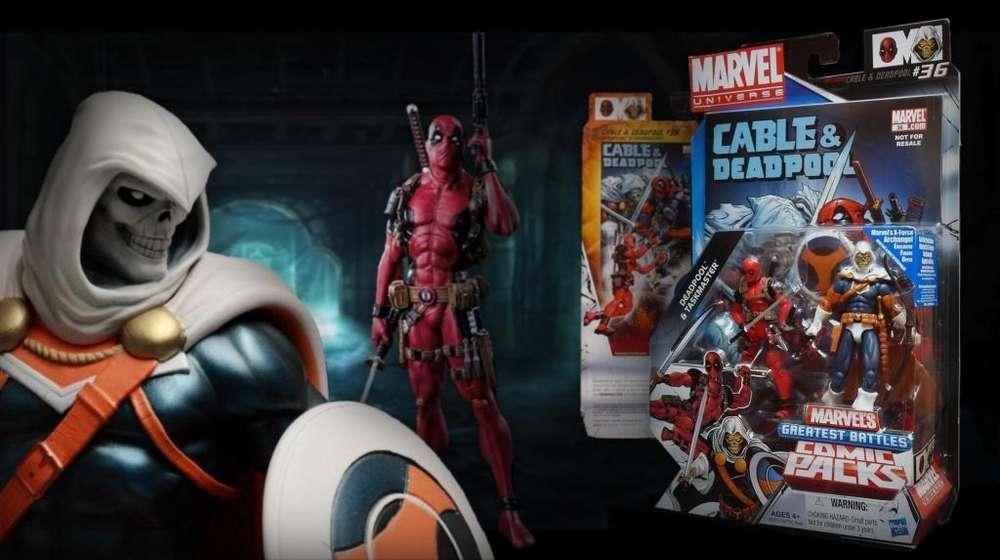 DEADPOOL AND TASKMASTER / MARVEL UNIVERSE / GREATEST BATTLES COMIC PACK / nuevo y sellado