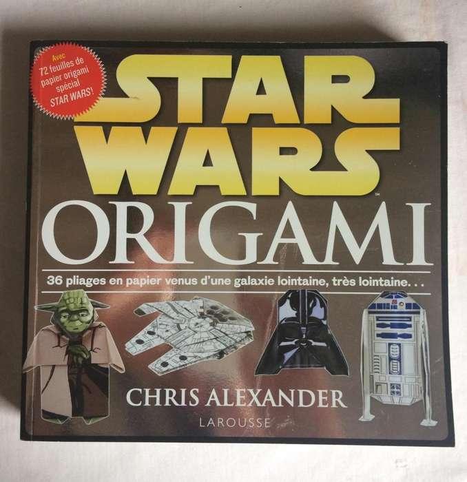 Libro Origami Stars Wars en Francés