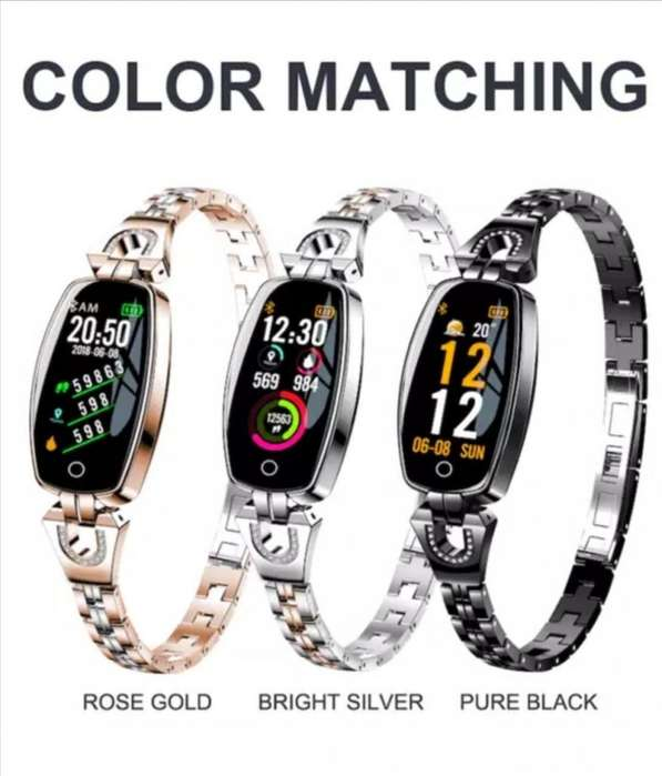 reloj pulsera para dama smart whatch