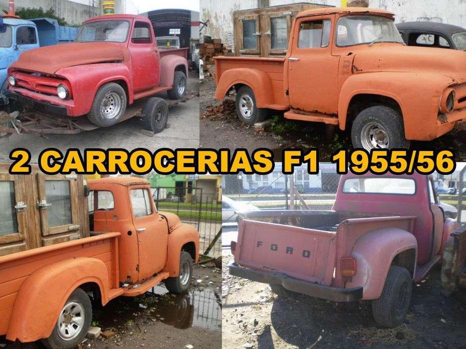Dos carrocerías F100 años 1953 y 56