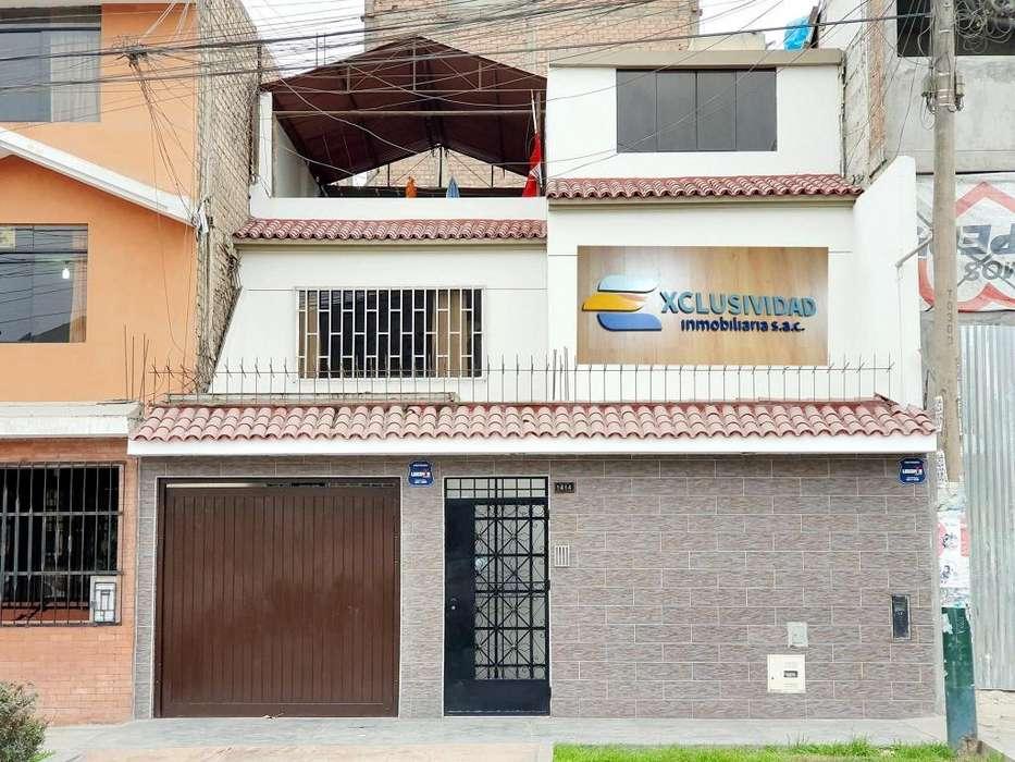 HERMOSA CASA EN LOS OLIVOS A.T.160M2, CERCA A AVENIDA