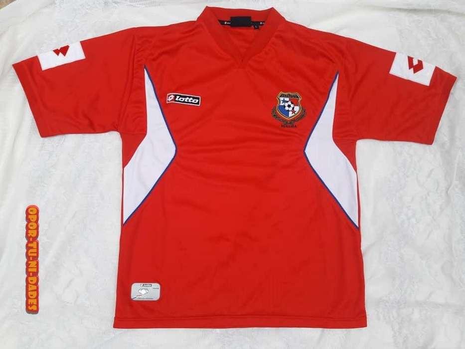 Camiseta De Fútbol Selección de Panama Lotto Talle XL REGALO DIA DEL PADRE