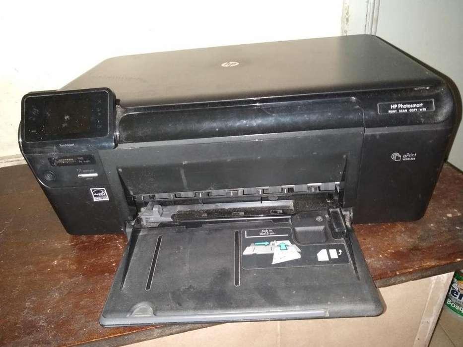impresora HP PHOTOMART PRINTS SCAM COPY WEB