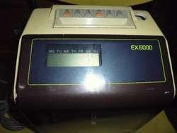 reloj chequeador antiguo electrico no fuciona para reparar 3122802858