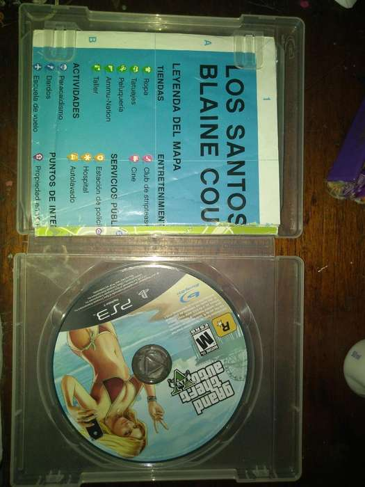 Vendo Gta 5 Ps3