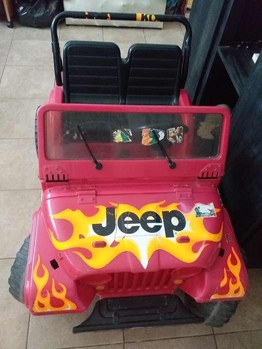 Jeep Niños Usado a Bateria
