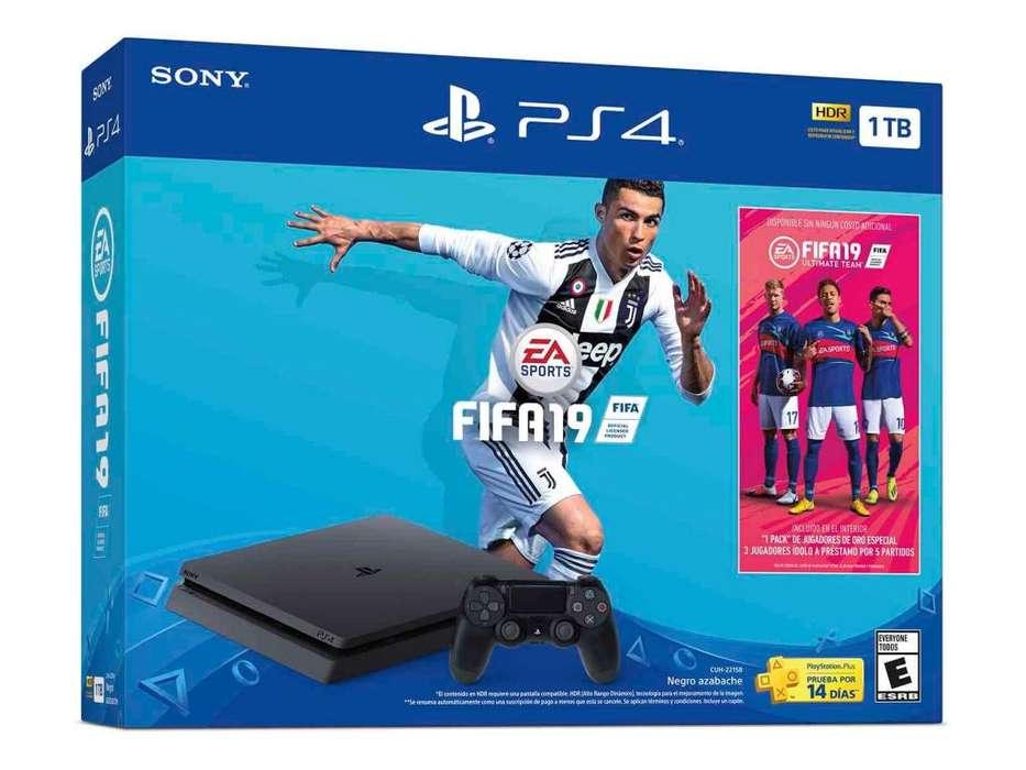 Consola Playstation 4 FIFA 2019 - LEER DESCRIPCIÓN
