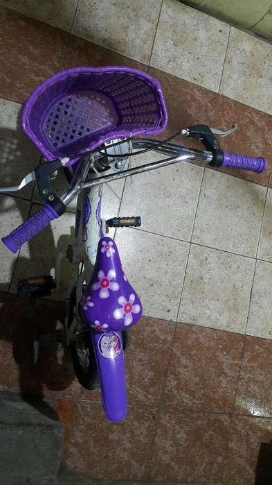 Bicicleta Frozen de Niña