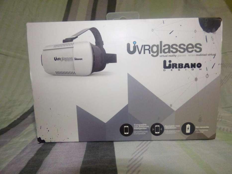Lentes de realidad virtual.