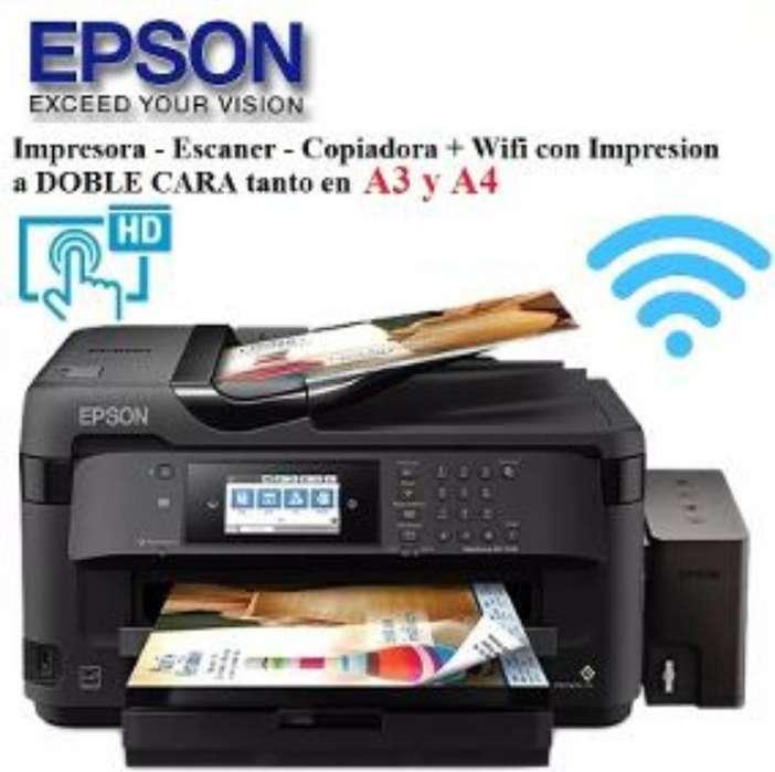 Impresora Epson Wf-7710 A3 Wifi Duplex