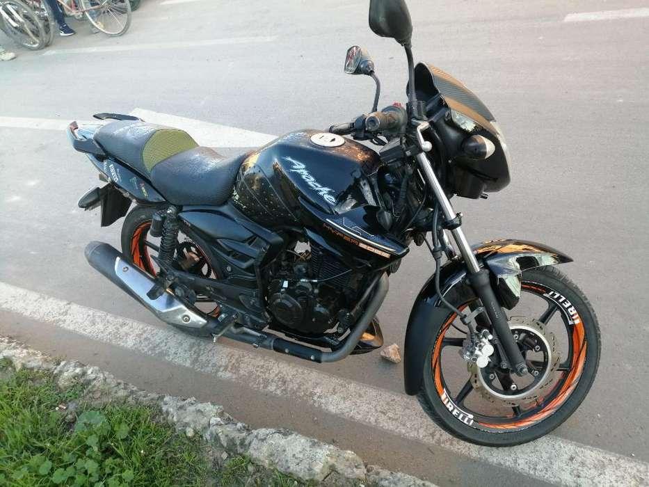 Vendo Moto Apache 160 Modelo 2013