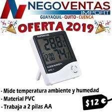 HIDROMETRO MEDIDOR DE TEMPERATURA AMBIENTAL