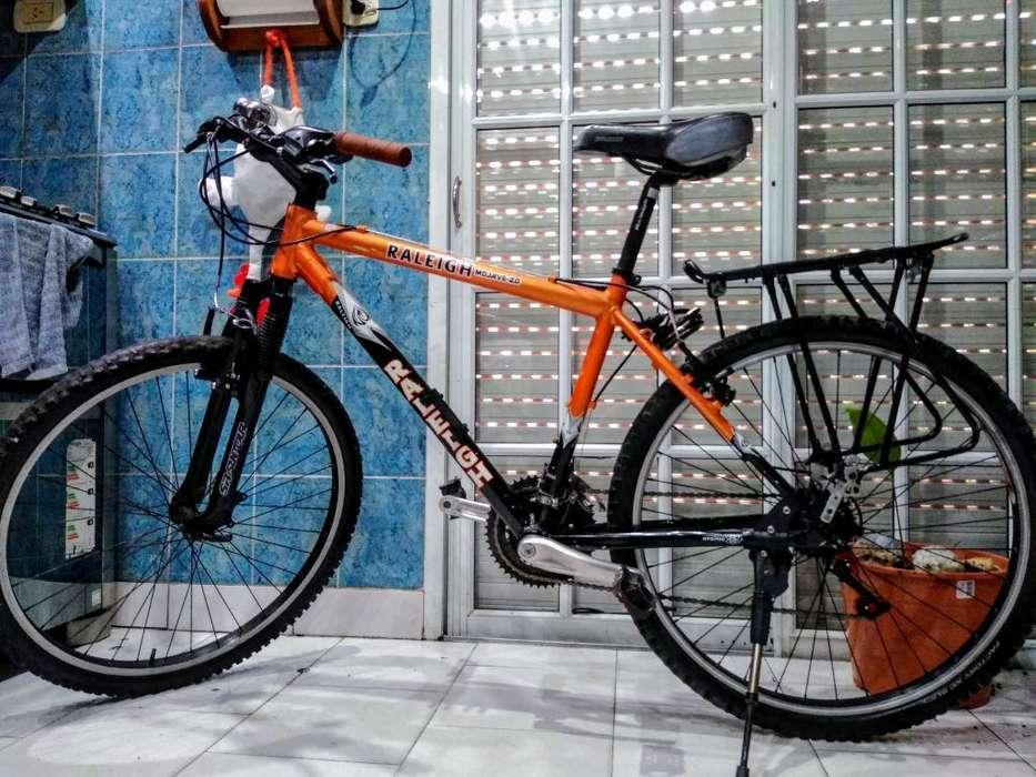 Bicicleta Raleigh Aluminio Rodado 26