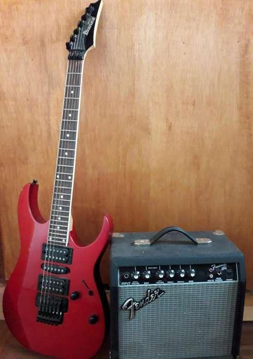 <strong>guitarra</strong> y amplificador