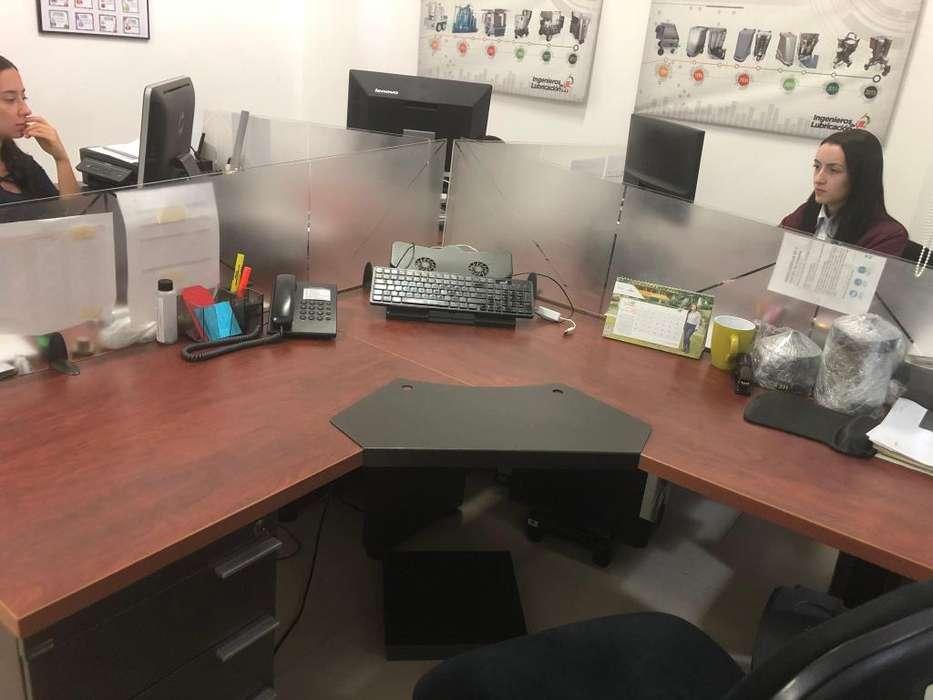 Ilsas de escritorios x 4
