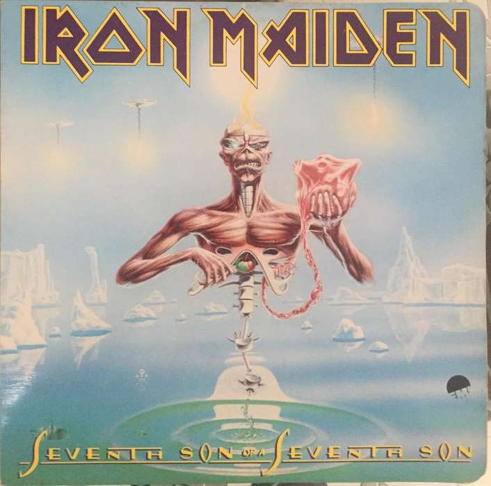 Lp Iron Maiden Vinilo Álbum 1966