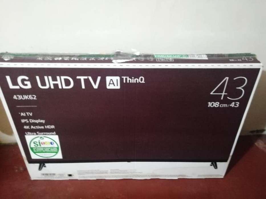 Tv Lg 4k 43'' Al Thingq 1'100.000
