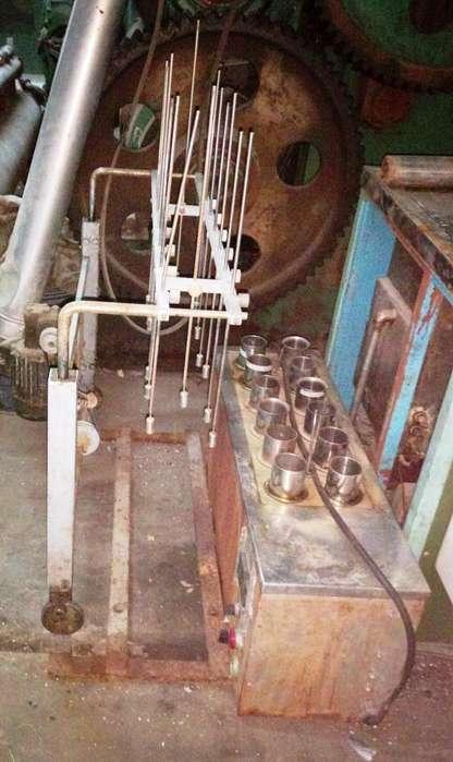 Laboratorio para teñido de muestras de 12 vasos con agitador