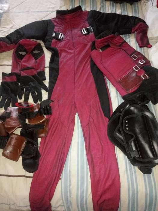 Disfraces de Spiderman Y Deadpool