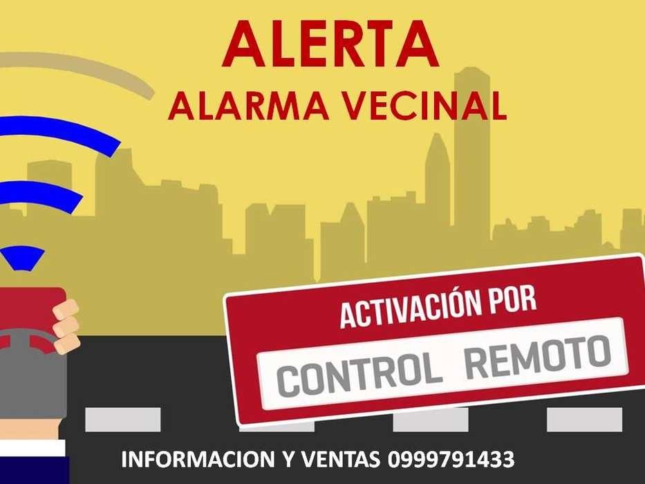 ALARMA COMUNITARIA ALAVE DR-2 SIN CABLES