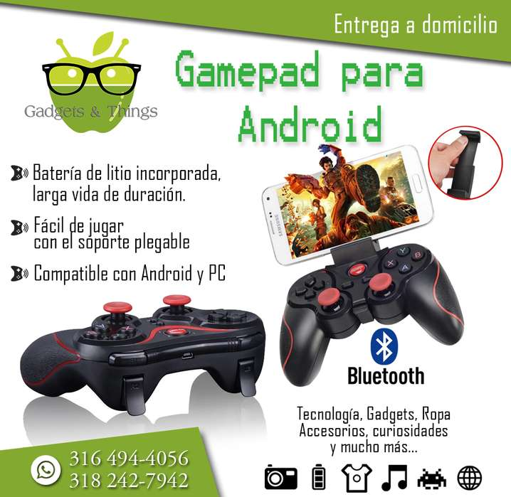 Control Bluetooth para celular.