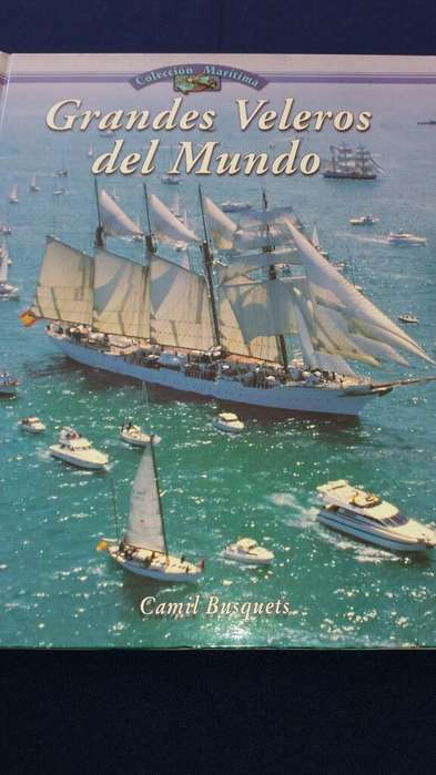 Libro Barcos Grandes Veleros Mar Playa