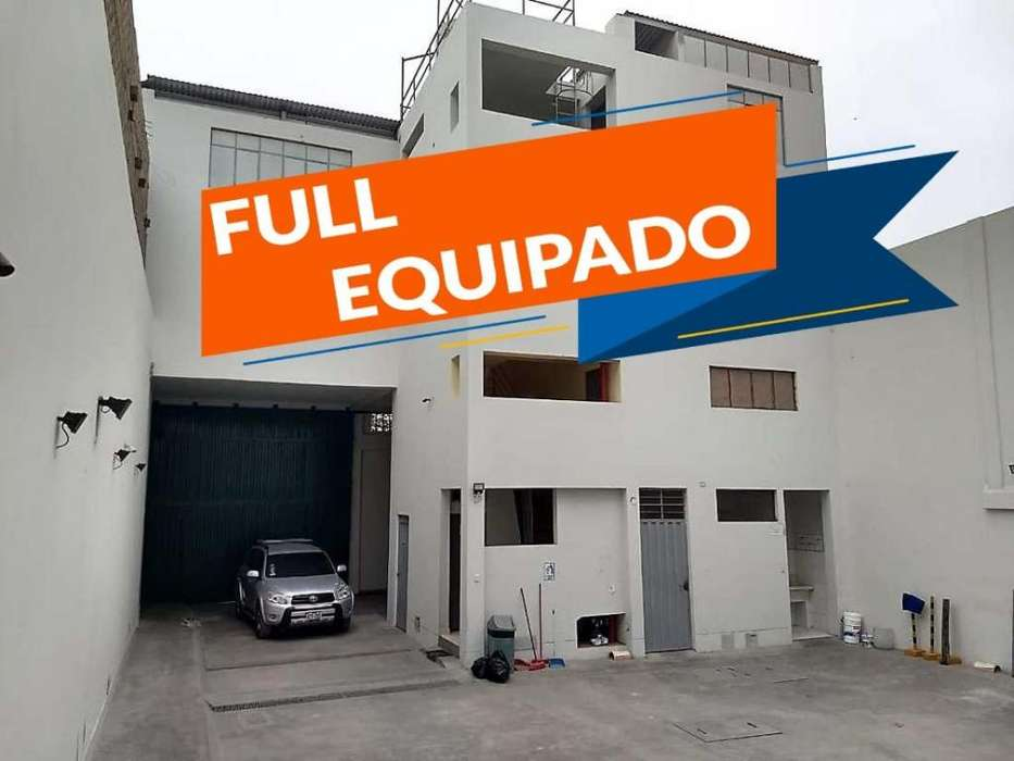 VENDO LOCAL INDUSTRIAL FULL EQUIPADO!! - TODO ACERO!!