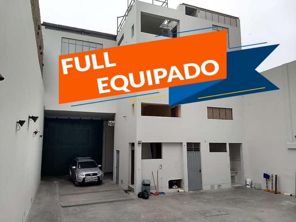 VENDO LOCAL INDUSTRIAL FULL EQUIPADO!! - TODO ACERO!! kx1456