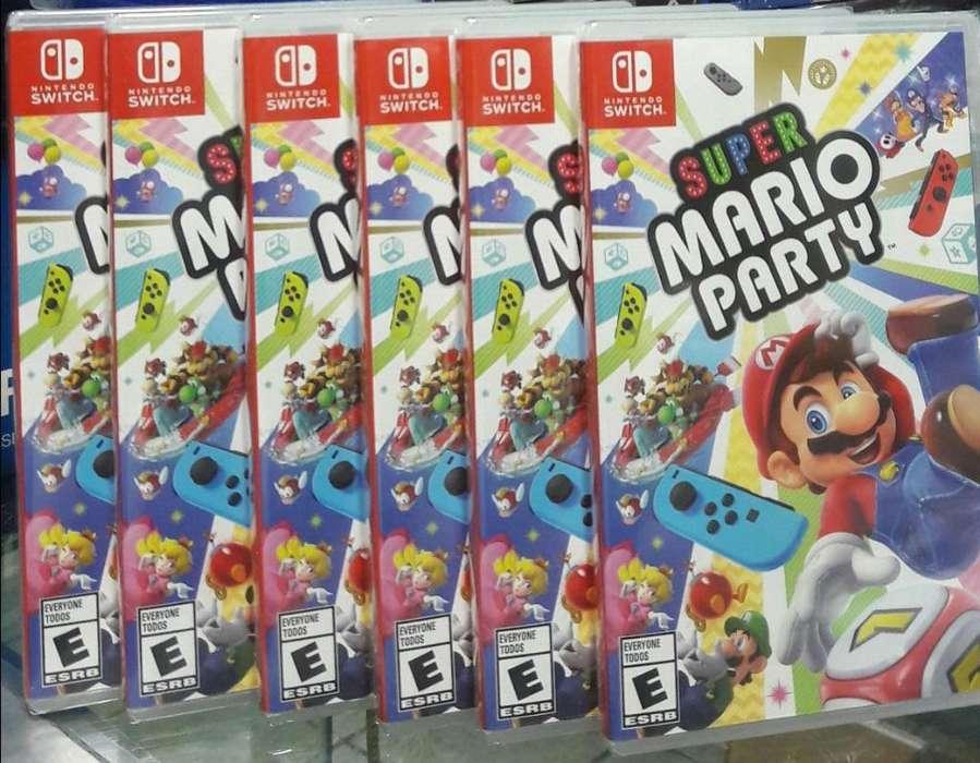 Super Mario Party Switch Sellados