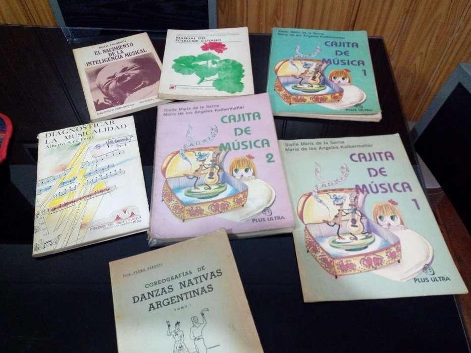 6 Libros de Música