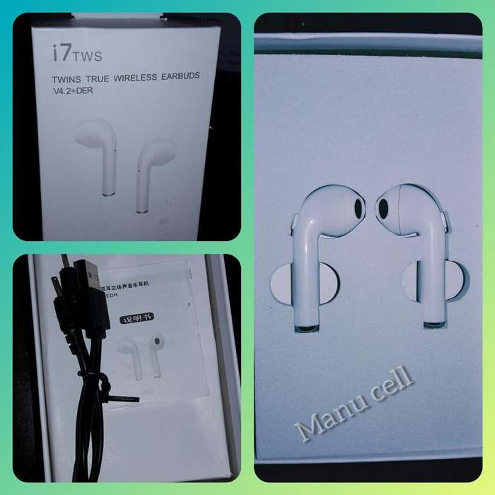 Auriculares <strong>bluetooth</strong> I7s