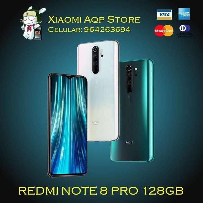 Xiaomi Redmi Note 8 Pro128gb Sellado