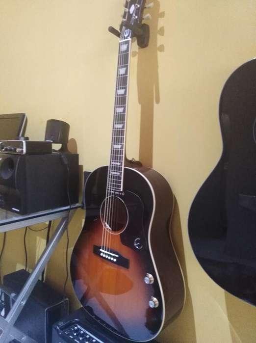 Guitarra Electroacústica Epiphone Ej160e