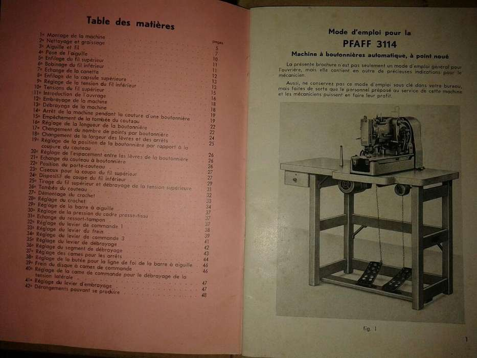 Manual Maquina Pfaff
