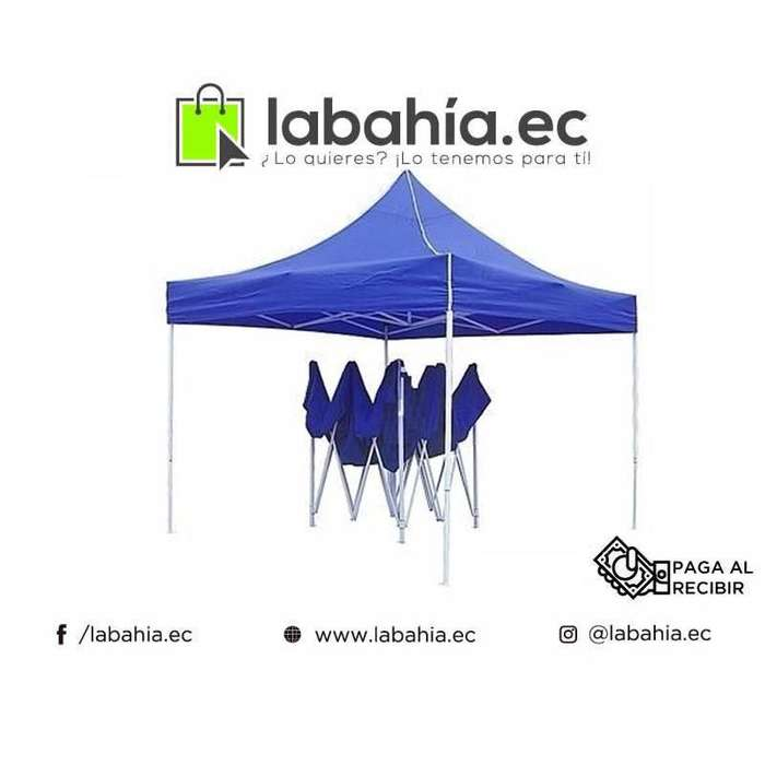 Carpa plegable 3x3 para eventos, patio o playa