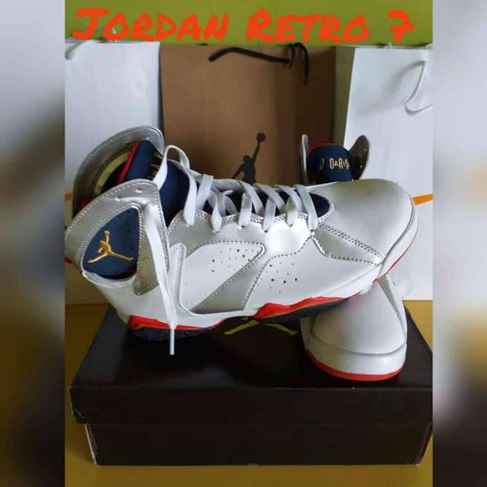 Zapatillas Jordan Retro 7 Talla 43