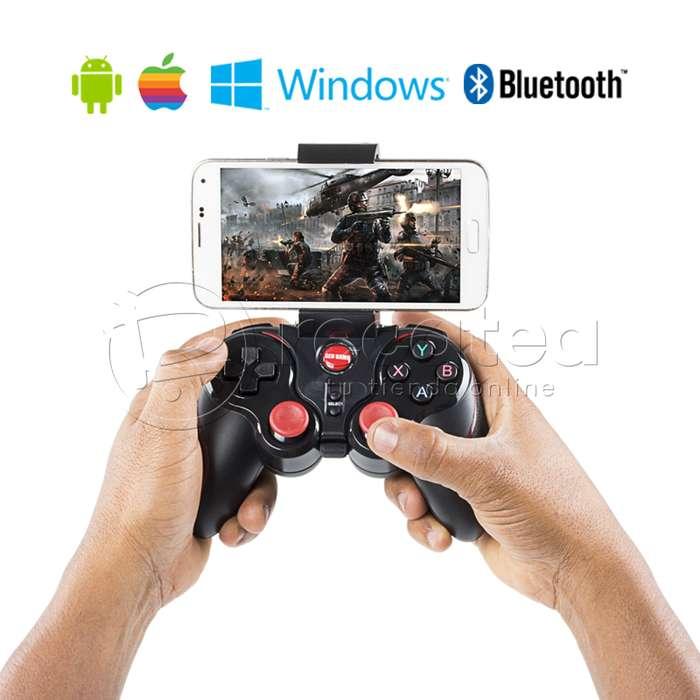 Control Inalámbrico Gamepad Bluetooth para Juegos Marca GenGame Modelo S5