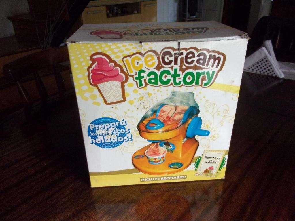 Maquina Helados Infantil Ice Cream Factory