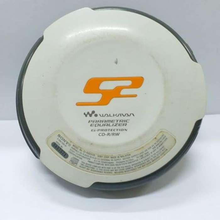 Walkman Discman Cd Mp3 Cargador Sony