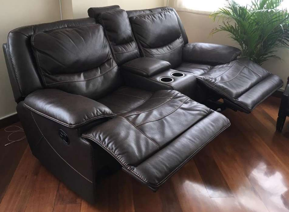 Sofa reclinable ESPECTACULAR PARA TV Y RELAX