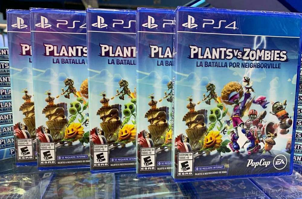 Plants Vs Zombies 3 La Batalla por Neighborville Ps4 Sellado Stock