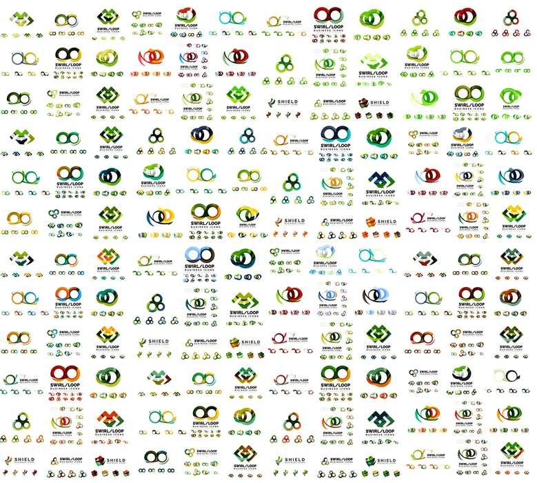 Diseño de logotipos empresariales, con maqueta en 3D, y manual de diseño