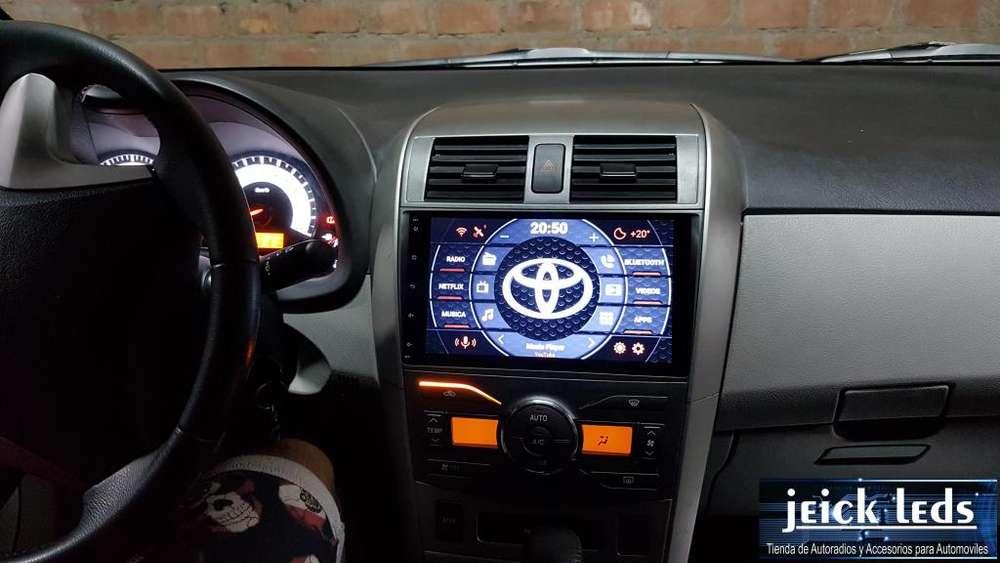 Nueva Radio Android Toyota Corolla 2007 Al 2013 Con 2g Ram