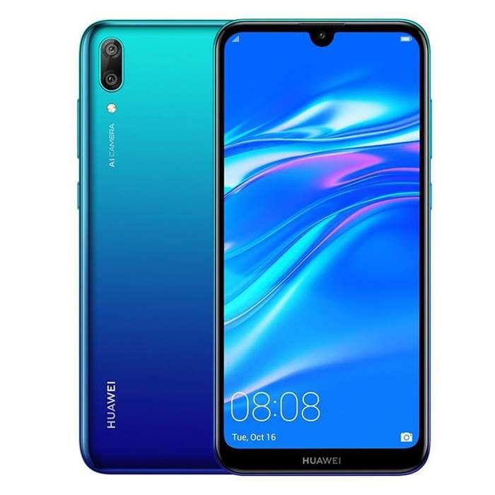 Celular Huawei Y7 2019 32gb Azul